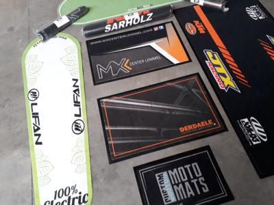 Overzicht matten - Custom Moto Mats