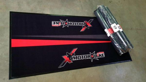 Matten rood - Custom Moto Mats