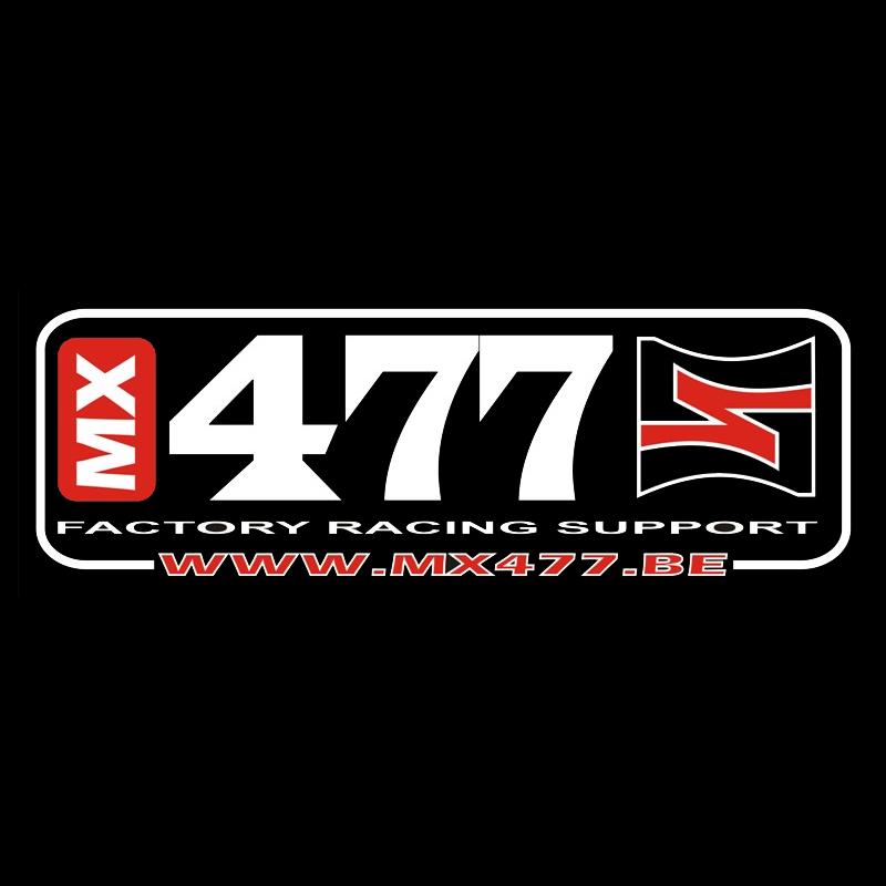 MX477 logo - Custom Moto Mats