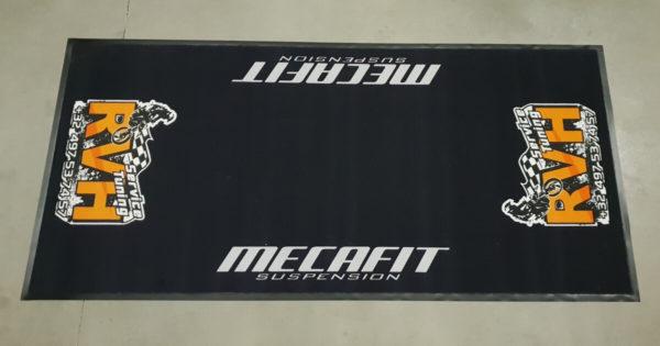 Mat zwart - Custom Moto Mats